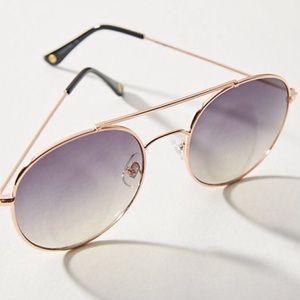 Anthropologie Round Aviator Sunglasses